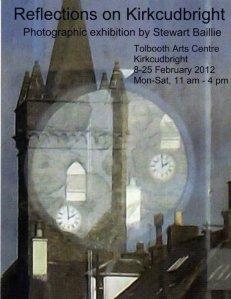 Reflections on Kirkcudbright (© Stewart Baillie)