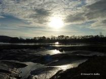 Mudflats, River Dee (© Stewart D. Baillie)