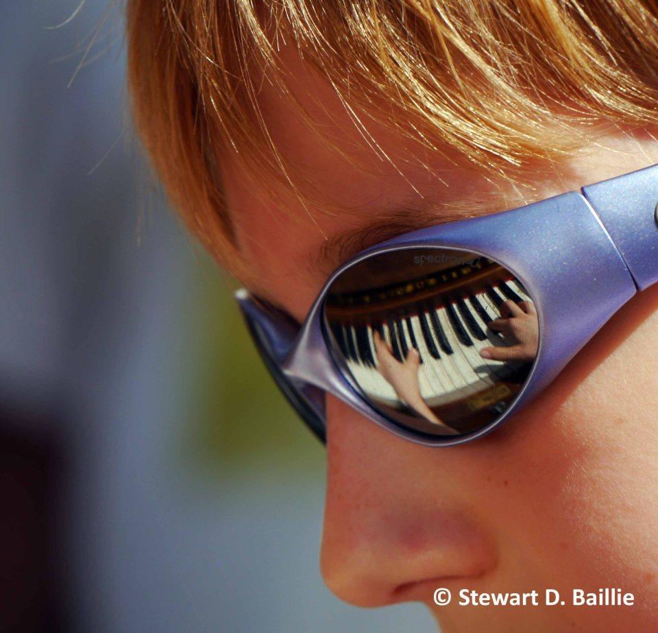 Evan Chopin - street pianist (© Stewart Baillie)